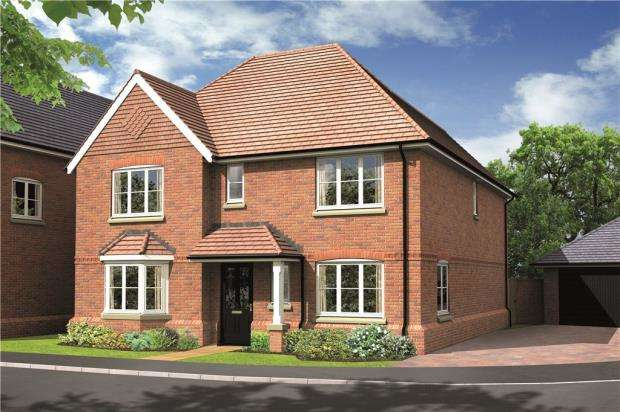 4 Bedrooms Detached House for sale in Basingstoke Road, Spencers Wood, Berkshire