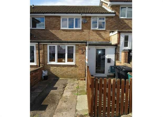 3 Bedrooms Terraced House for sale in Forest Road, Cinderford, Gloucestershire