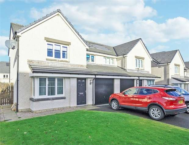 3 Bedrooms Semi Detached House for sale in Burnside Park, Dyce, Aberdeen