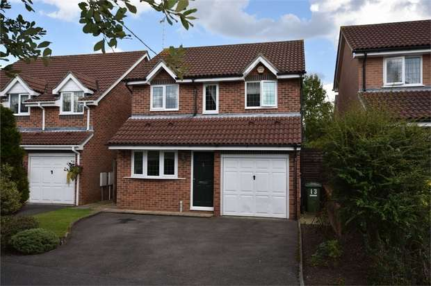 3 Bedrooms Detached House for sale in Cressida Chase, Warfield, Bracknell, Berkshire