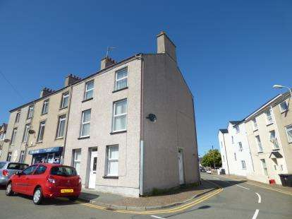 4 Bedrooms End Of Terrace House for sale in Thomas Street, Holyhead, Anglesey, LL65
