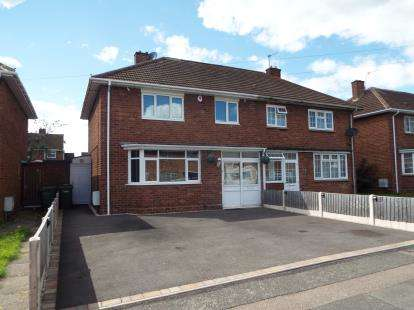 3 Bedrooms Semi Detached House for sale in Plascom Road, East Park, Wolverhampton, West Midlands