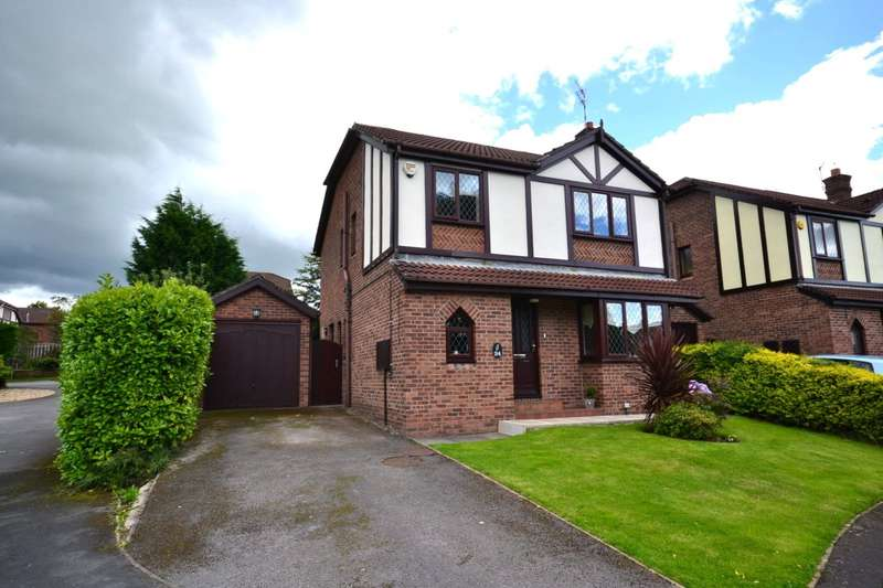 4 Bedrooms Detached House for sale in Barnside Way, Tytherington, Macclesfield