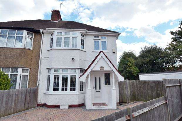 4 Bedrooms Semi Detached House for sale in Cromer Close, Hillingdon