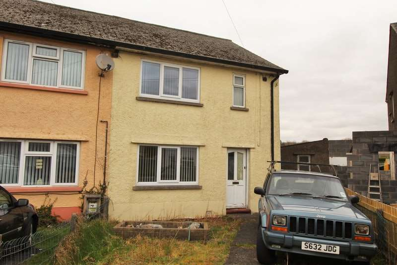 2 Bedrooms Semi Detached House for sale in Min Y Rhos, Swansea, Powys, SA9