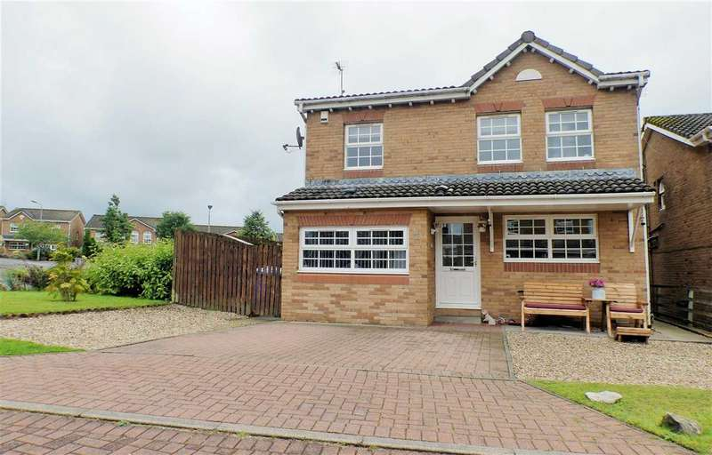 4 Bedrooms Detached House for sale in Strathdon Place, Hairmyres, EAST KILBRIDE