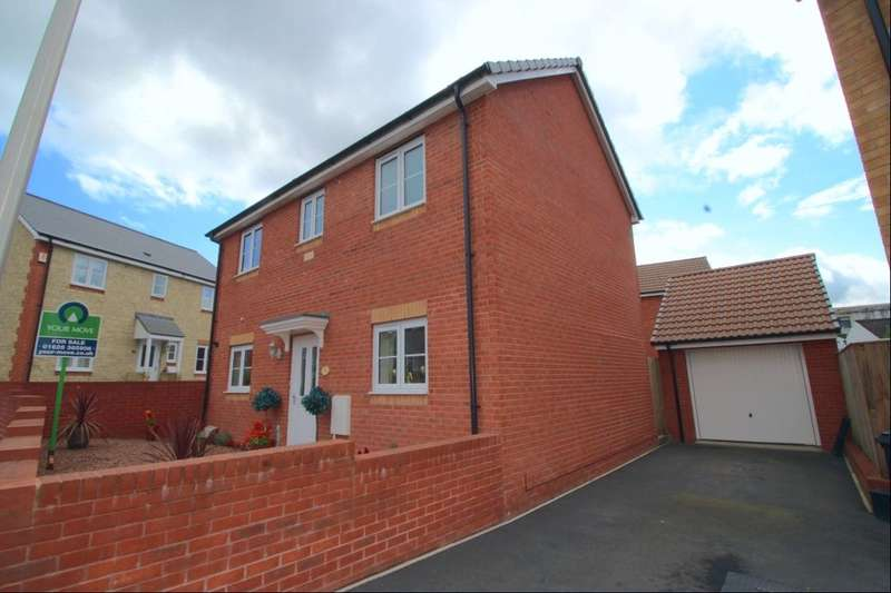 3 Bedrooms Detached House for sale in Thistle Close, NEWTON ABBOT, TQ12