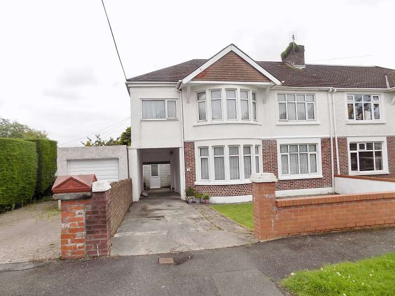 6 Bedrooms Semi Detached House for sale in Parcau Road, Bridgend, Bridgend. CF31 4TA