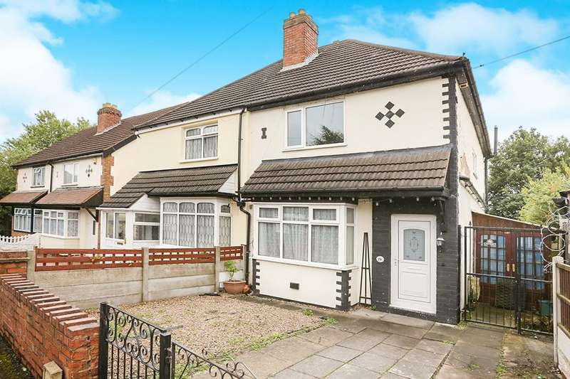 3 Bedrooms Semi Detached House for sale in Phoenix Street, Wolverhampton, WV2