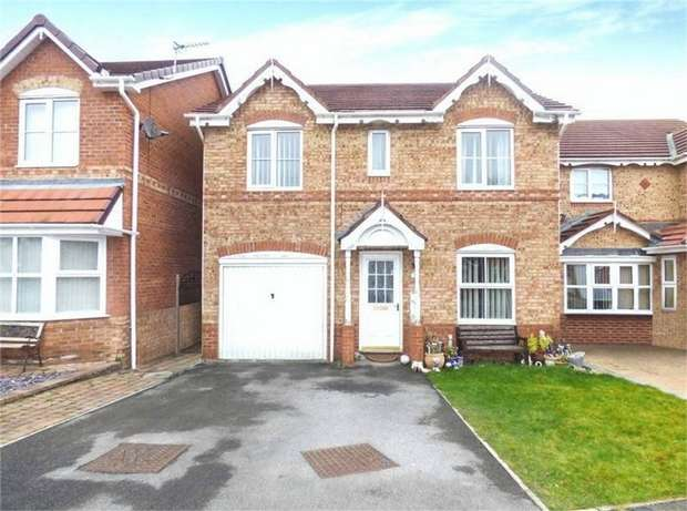 4 Bedrooms Detached House for sale in Whin Meadows, Hartlepool, Durham