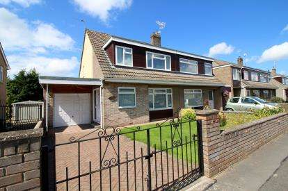 3 Bedrooms Semi Detached House for sale in Sutherland Avenue, Downend, Bristol, South Gloucestershire