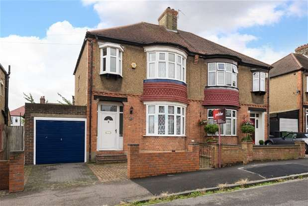 3 Bedrooms Semi Detached House for sale in Winsford Road, Catford