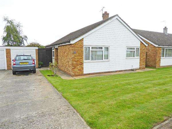 3 Bedrooms Detached Bungalow for sale in Majors Close, Chedburgh, BURY ST. EDMUNDS IP29 4UN