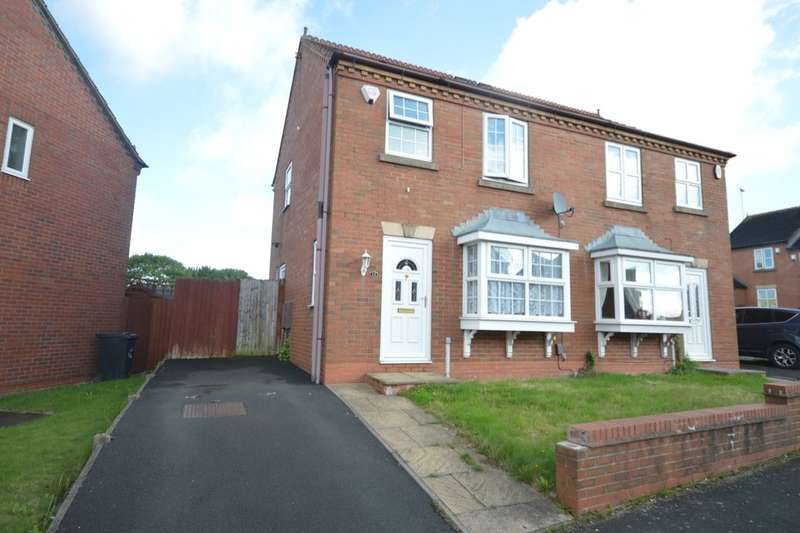 3 Bedrooms Semi Detached House for sale in Steppingstone Street, Dudley, DY1