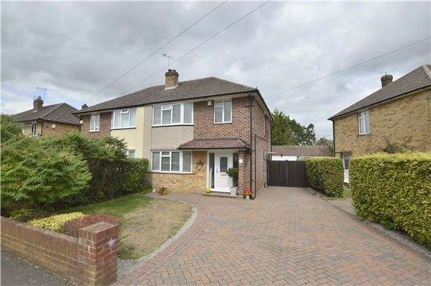 3 Bedrooms Semi Detached House for sale in Park Avenue, REDHILL, RH1 5DP