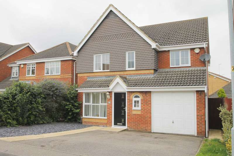 4 Bedrooms Detached House for sale in Aintree Drive, Rushden