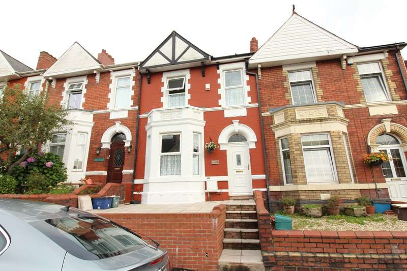 3 Bedrooms Terraced House for sale in Coldra Road, Newport, NP20