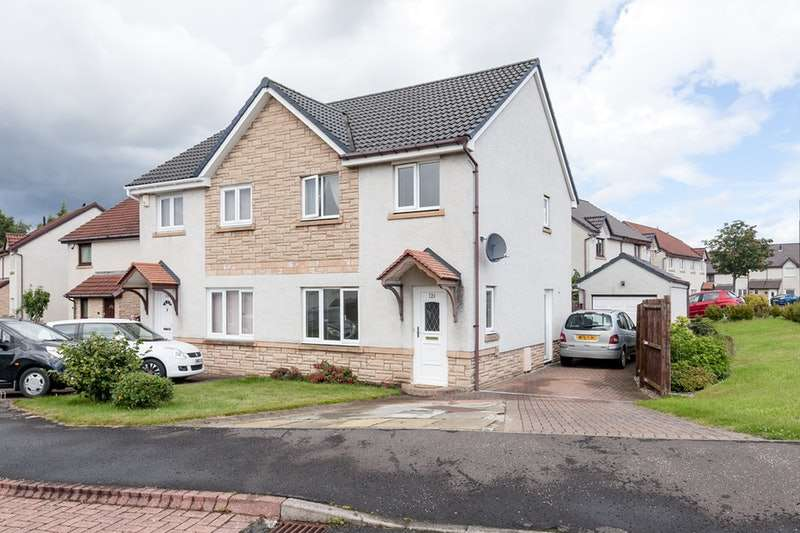3 Bedrooms Semi Detached House for sale in The Murrays Brae, Edinburgh, Midlothian, EH17