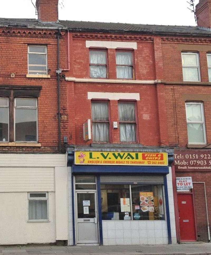 1 Bedroom Flat for sale in Flat 3, Kensington, Liverpool, Merseyside, L7 8XB