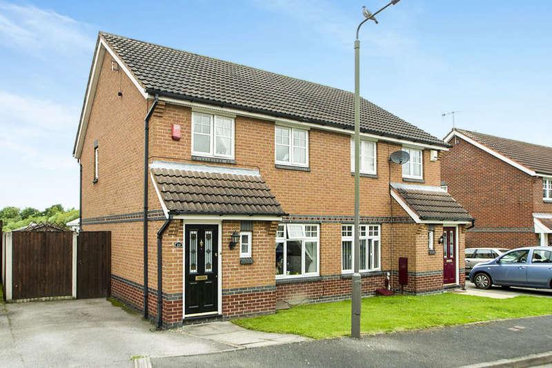 3 Bedrooms Semi Detached House for sale in Wooliscroft Close, Ilkeston, DE7