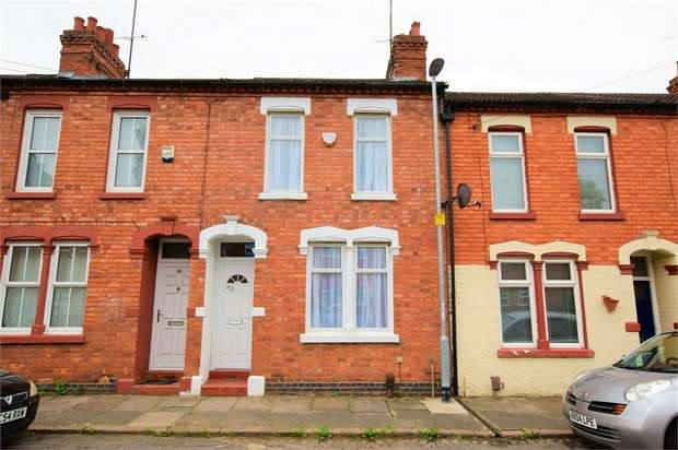 2 Bedrooms Terraced House for sale in Stanley Road, NORTHAMPTON