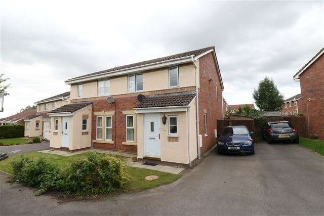 4 Bedrooms Semi Detached House for sale in Moorside Drive, Carlisle, CA1 3TE