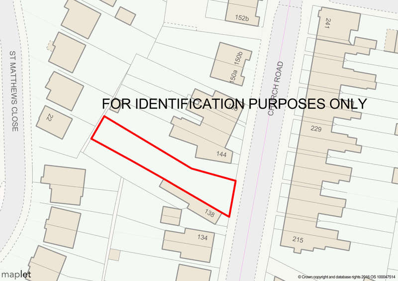Land Commercial for sale in Land adj 138 Church Road,Stockingford,Nuneaton,Warwickshire,CV10 8LG, Stockingford, Nuneaton