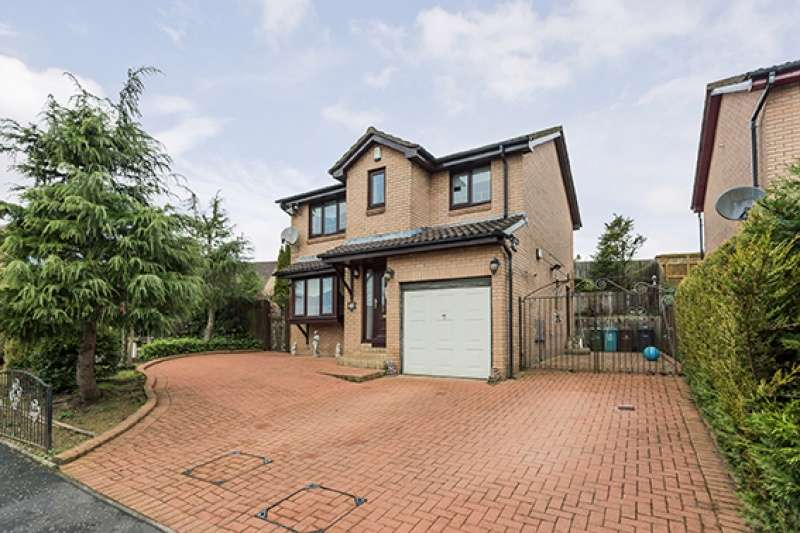 4 Bedrooms Detached House for sale in Binniehill Road, Cumbernauld, G68 9DT