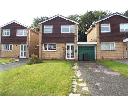 3 Bedrooms Link Detached House for sale in Salford Close, Redditch, Worcestershire