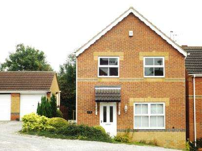 4 Bedrooms Detached House for sale in Merlin Avenue, Bolsover, Chesterfield, Derbyshire