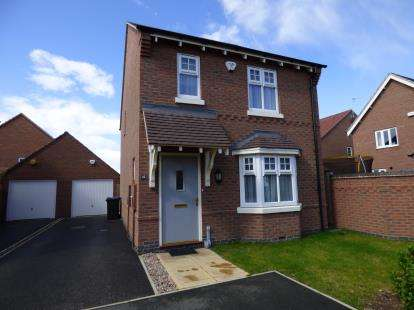 3 Bedrooms Detached House for sale in Springfield Avenue, Long Eaton, Nottingham