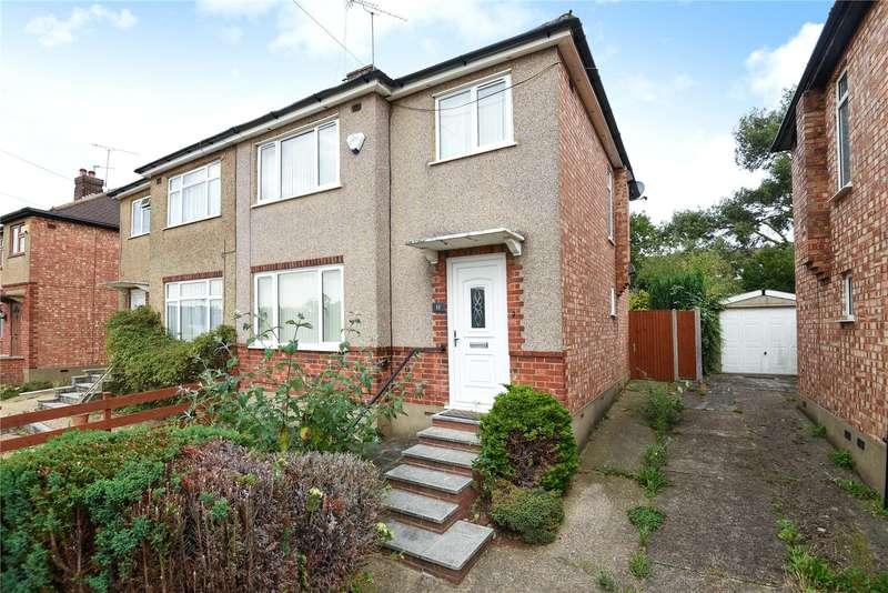 3 Bedrooms Semi Detached House for sale in Glenhurst Avenue, Ruislip, Middlesex, HA4