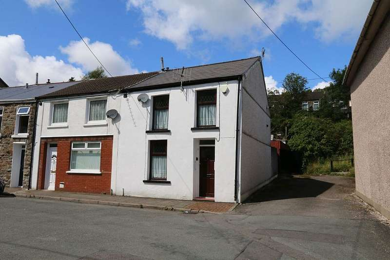 2 Bedrooms End Of Terrace House for sale in Lower Terrace, Treorchy, Rhondda, Cynon, Taff, CF42 6HP
