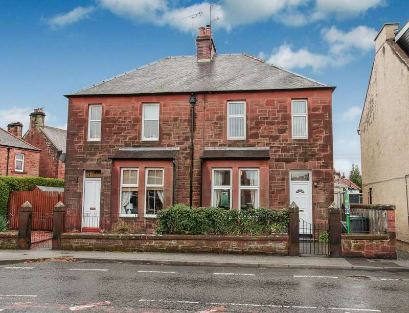 3 Bedrooms Semi Detached House for sale in Terregles Street, Dumfries, DG2