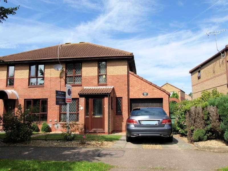 3 Bedrooms Semi Detached House for sale in Portland Drive, Willen, Milton Keynes