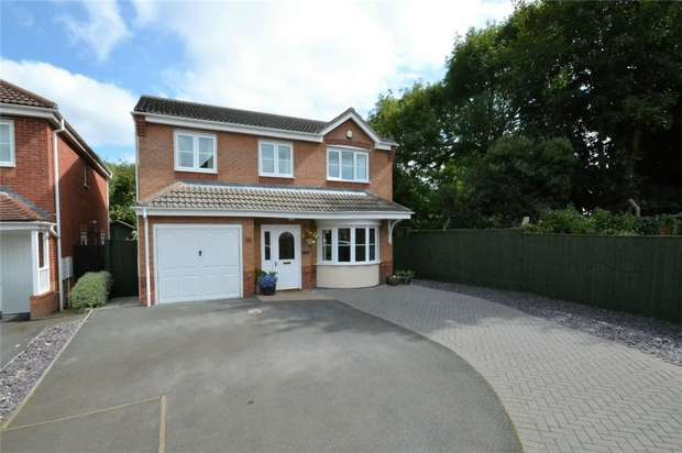 4 Bedrooms Detached House for sale in 16 Gregson Walk, Dawley, Telford, Shropshire
