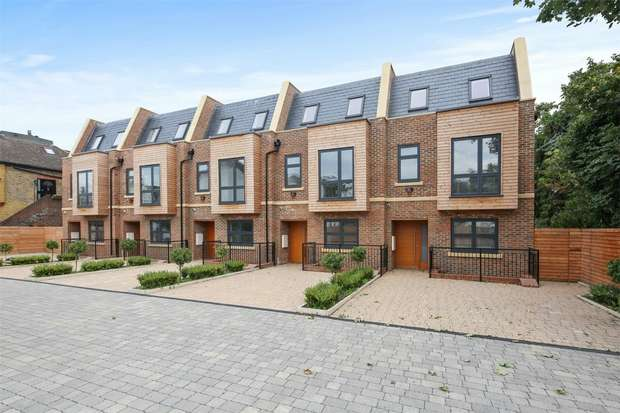 5 Bedrooms Semi Detached House for sale in King Edwards Mews, King Edwards Gardens, Acton