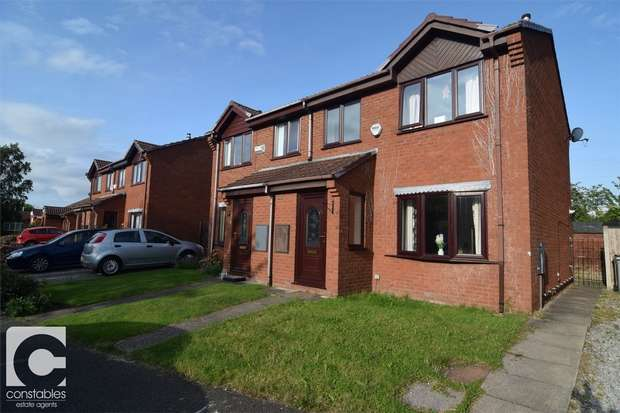 3 Bedrooms Semi Detached House for rent in Pullman Close, Heswall, Wirral, Merseyside