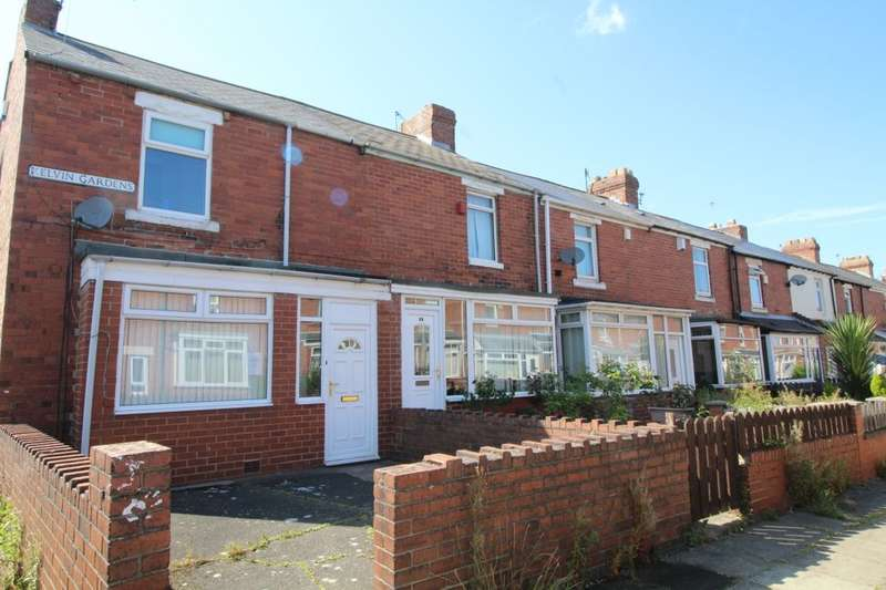 2 Bedrooms Semi Detached House for sale in Kelvin Gardens, Dunston, Gateshead, NE11
