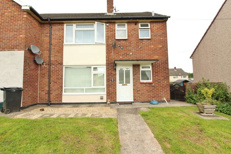 1 Bedroom Ground Flat for sale in Tees Close, Bettws, Newport, NP20