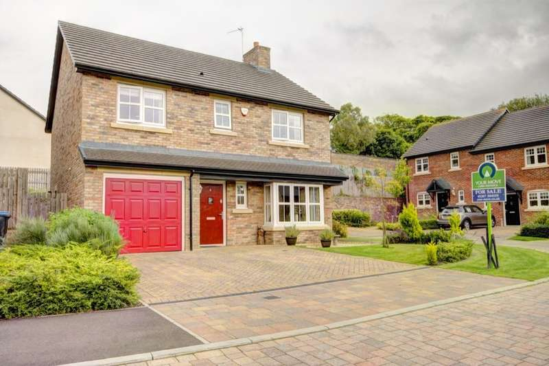 4 Bedrooms Detached House for sale in Lievers Close, Shotley Bridge, Consett, DH8