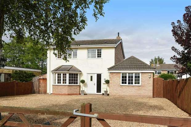 4 Bedrooms Detached House for sale in High Street, Great Barford