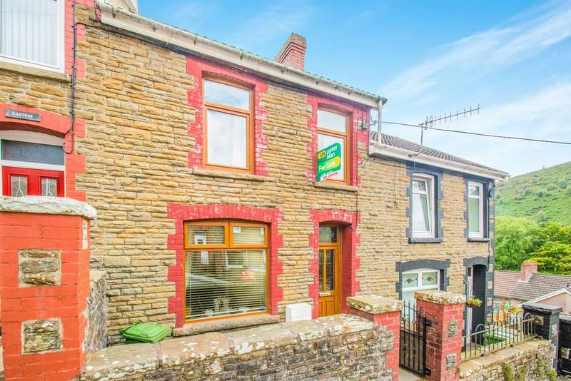 3 Bedrooms Terraced House for sale in Hill Street, Deri, Bargoed