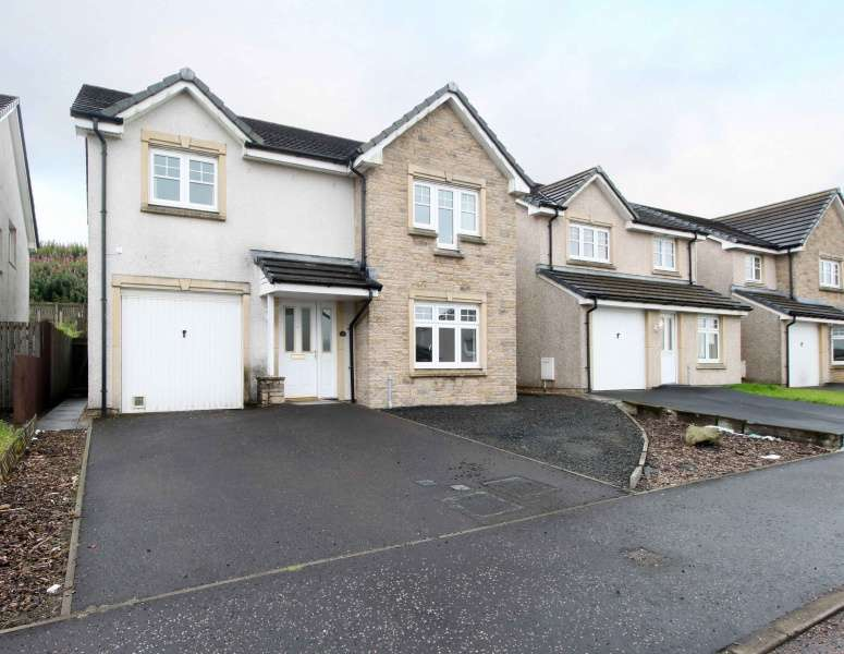 4 Bedrooms Detached Villa House for sale in Blairadam Crescent, Kelty, Fife, KY4 0EZ