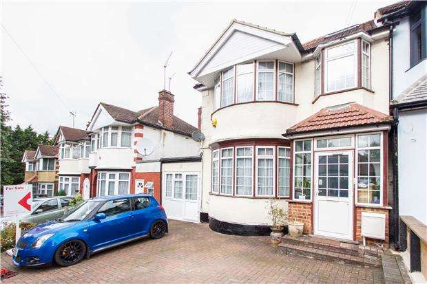 4 Bedrooms End Of Terrace House for sale in Fairfields Crescent, KINGSBURY, NW9 0PR