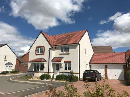 4 Bedrooms Detached House for sale in Lambourne Close, Evesham, Worcestershire