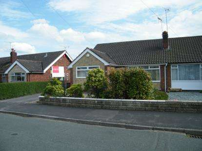 2 Bedrooms Bungalow for sale in Highfield Drive, Nantwich, Cheshire