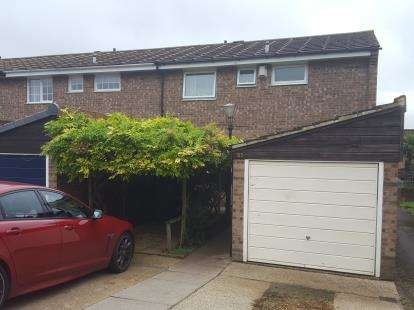 3 Bedrooms End Of Terrace House for sale in Cavell Road, Cheshunt, Waltham Cross, Hertfordshire