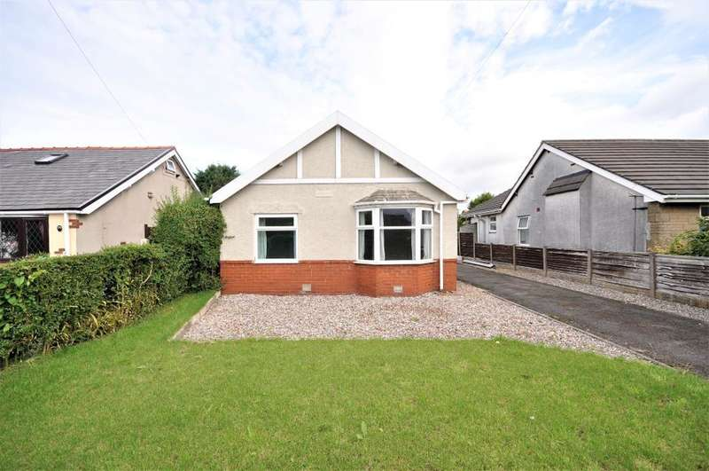 3 Bedrooms Detached Bungalow for sale in Lytham Road, Warton, Preston, Lancashire, PR4 1XE