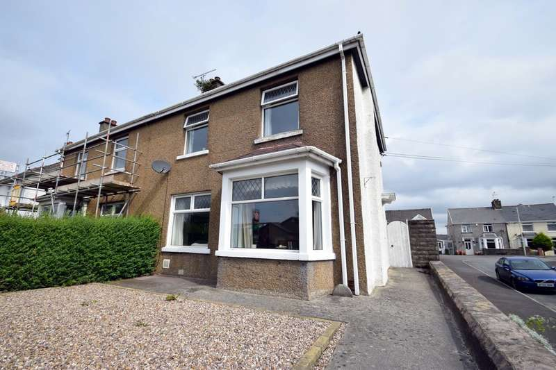 3 Bedrooms Semi Detached House for sale in 109 Cowbridge Road, Bridgend, Bridgend County Borough, CF31 3DH.